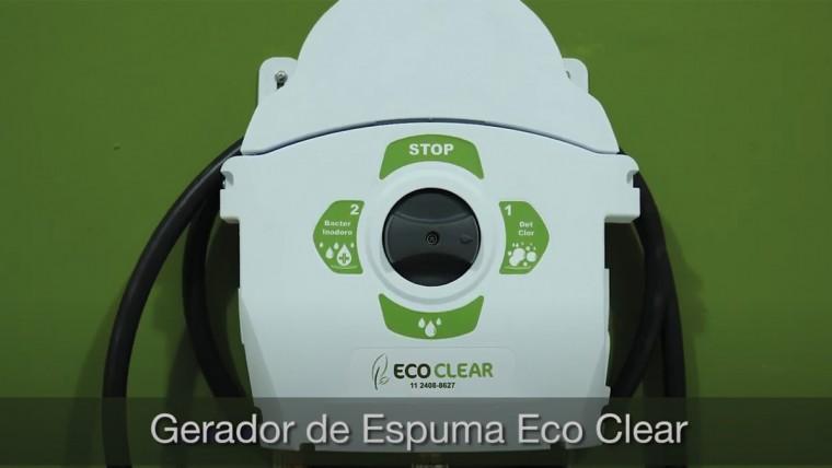 Gerador de Espuma Eco CLear