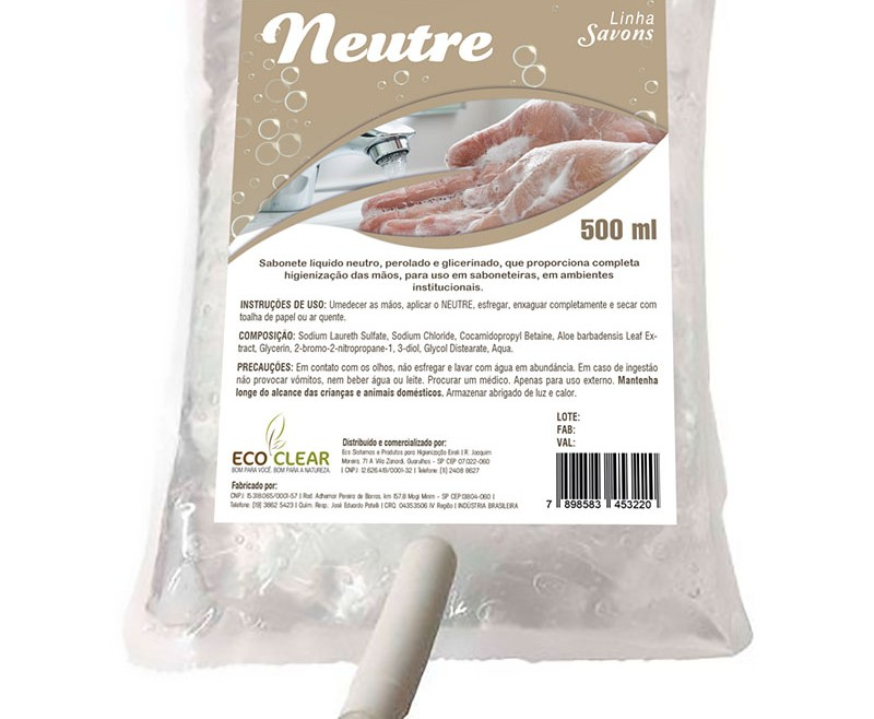 Sabonete Neutre